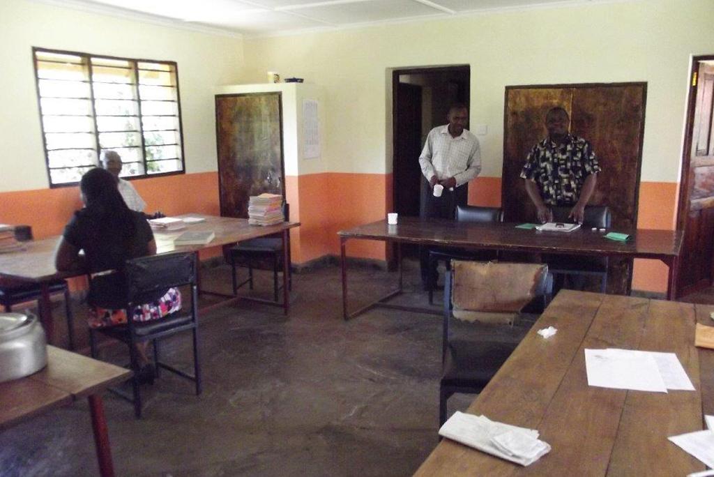 Neue Klassenräume
